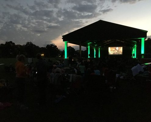 Movies in the Meadow, YCA, Yorktown Council for the Arts